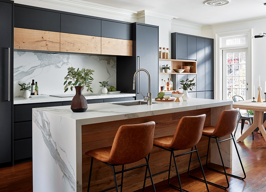 A Cramped Kitchen In The South End Gets A Crisp Modern Look