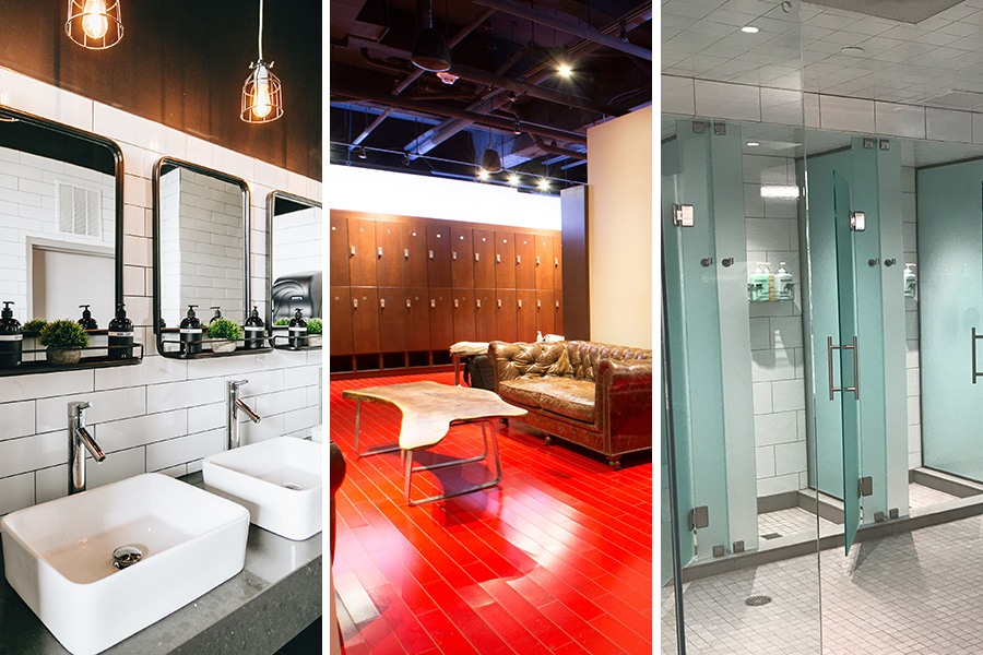 The most luxurious locker rooms in boston