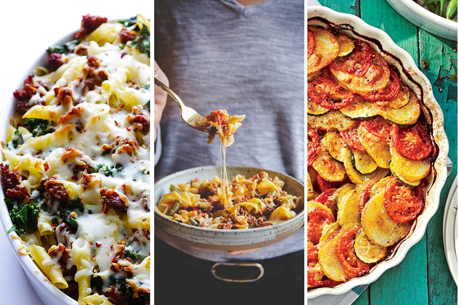 10 Healthy Casserole Recipes Made With Five Ingredients Or Less