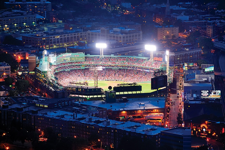Someone Flew a Drone over Fenway Park During a Red Sox Game