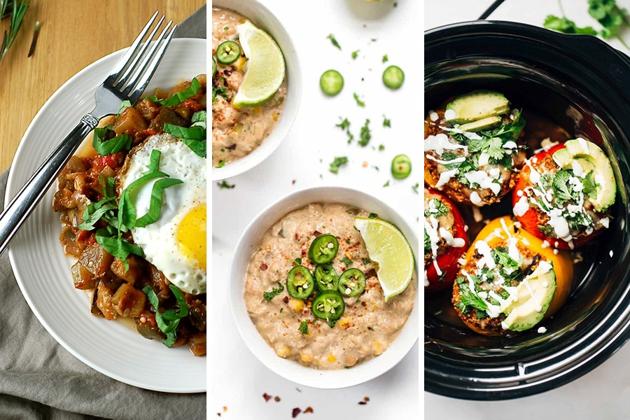 10 Healthy And Easy Vegetarian Crock Pot Recipes