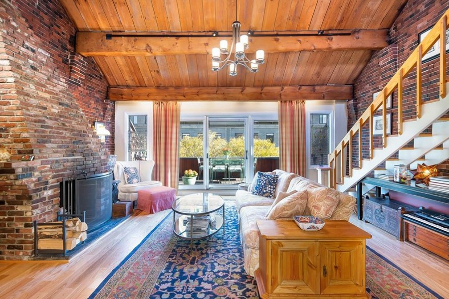 On the Market: An Enchanting Penthouse in the North End