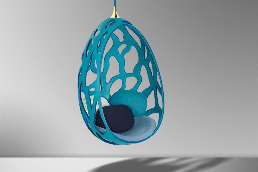 Covet A Louis Vuitton Fiberglass Cocoon Chair