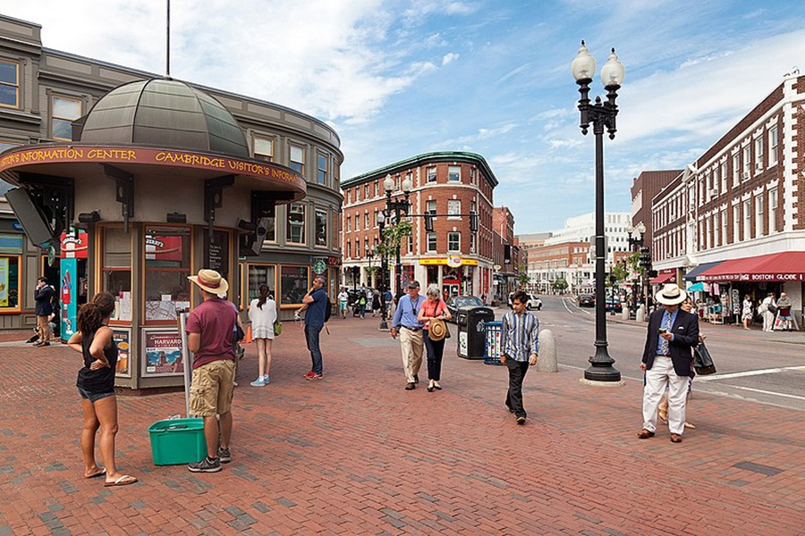 A Pedestrian Was Struck by a Vehicle in Harvard Square