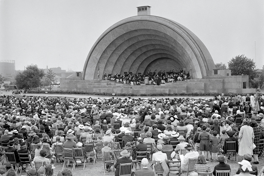 The History of the Hatch Shell: 79 Years of Summer Sounds