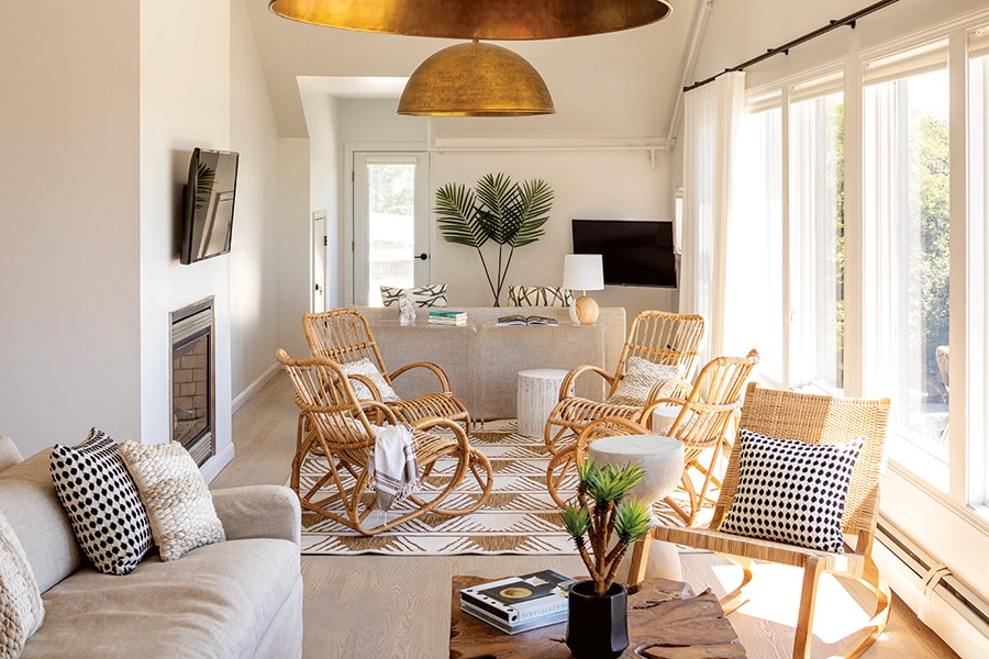 At This Provincetown Hotel Bohemian Minimalism Abounds