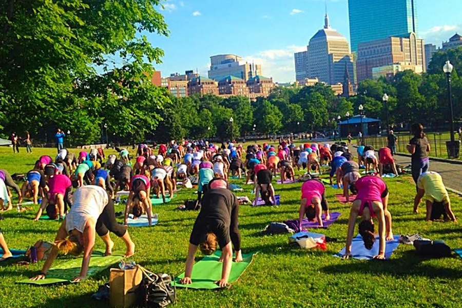 Head to Any One of Boston's Parks This Summer for Free Fitness