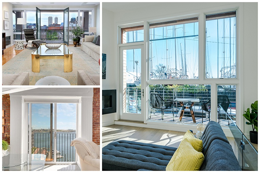 Five Homes for Sale on the Boston Waterfront