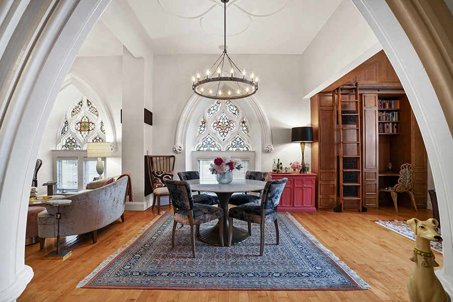 On the Market: A Luxe Condo in a Converted Catholic Church