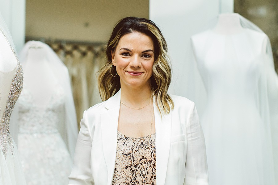 6b2a65b8a Allegria Bridal's Julie Centofanti Dishes on Finding the Perfect Gown