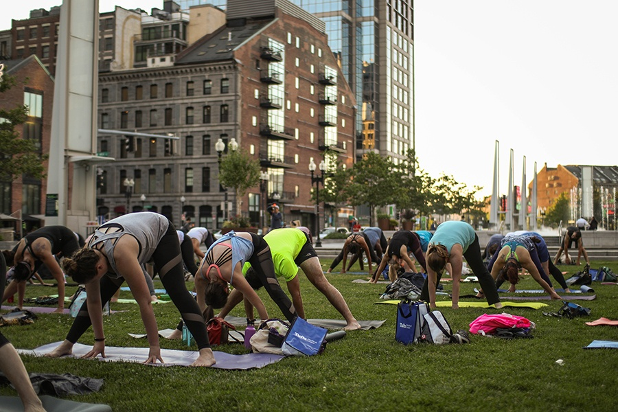 The Greenway Fitness Series Returns to Boston This Summer