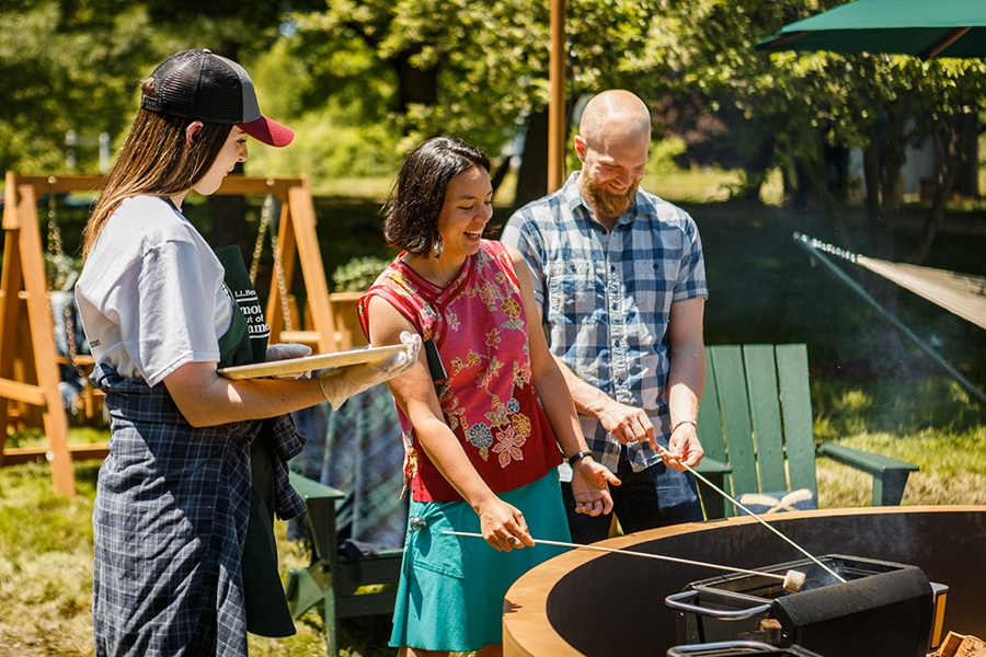 L.L. Bean Wants You to De-Stress with S'Mores This Summer