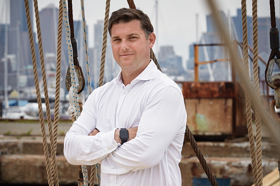 Meet the Man Behind Boston Harbor's New Floating Restaurant