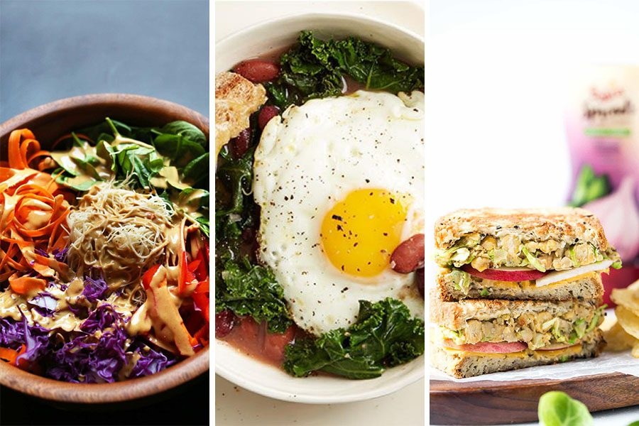 10 High Protein Meatless Recipes To Make For Lunch