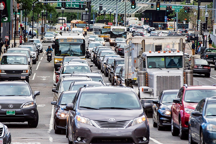 Does Boston Have Its Worst Traffic Jams of the Year in August?