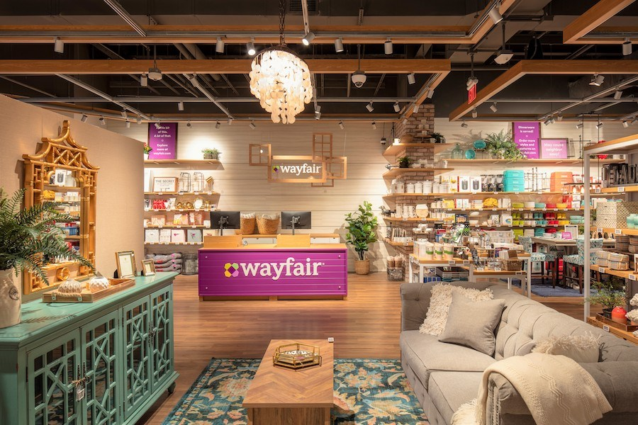 Sneak Peek Wayfairs First Ever Retail Store Opens In Natick