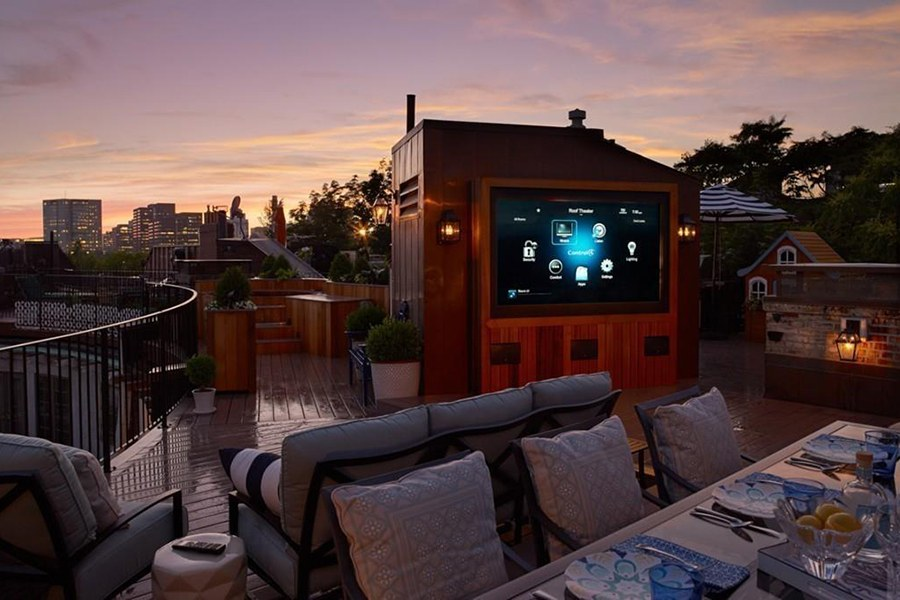 On the Market: A Charles Riverside Condo with the Most Incredible Roof Deck