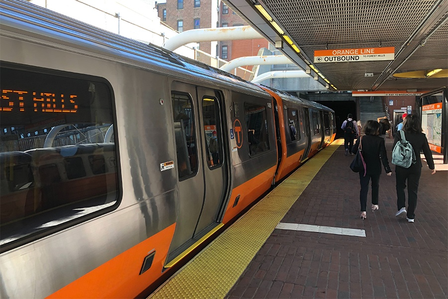 "The New Orange Line Cars Are Making an ""Uncommon Noise"" Now"