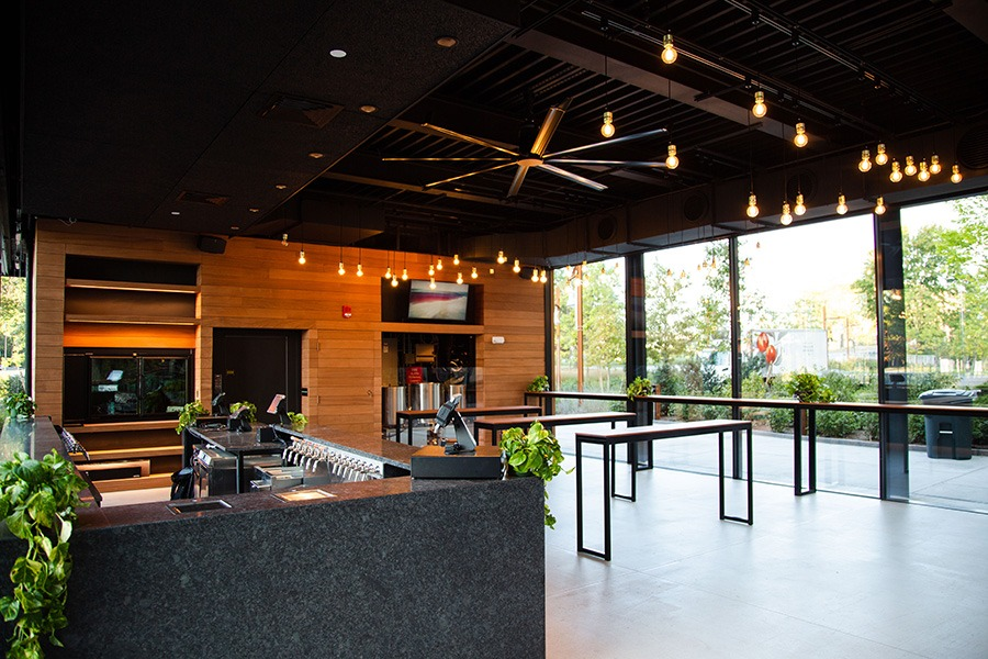 First Look at the Sun-Soaked Trillium Brewing Taproom in the Fenway