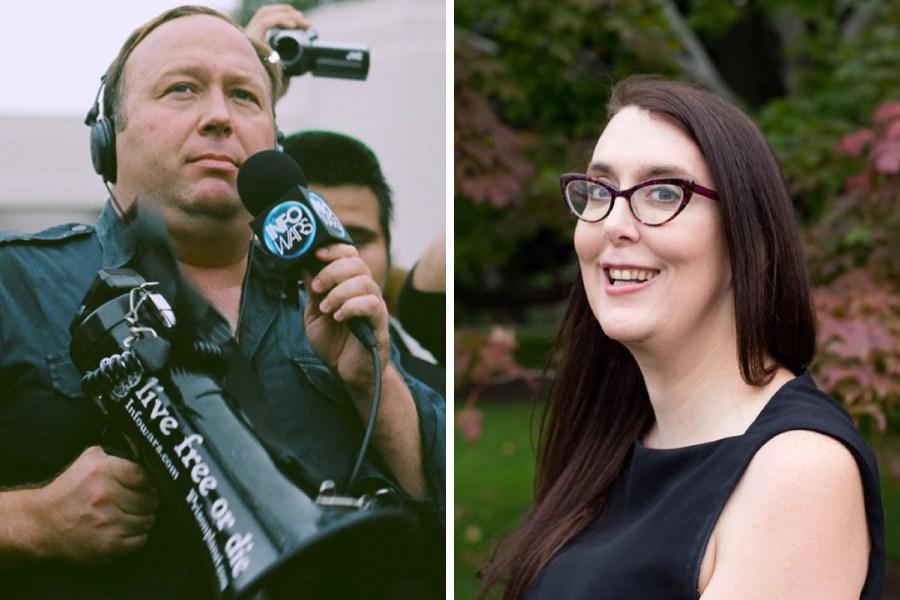 Infowars Alex Jones Is Suing Massachusetts Candidate Brianna Wu