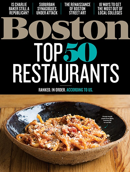 Your Guide To Boston S Top 50 Restaurants In 2019 Boston