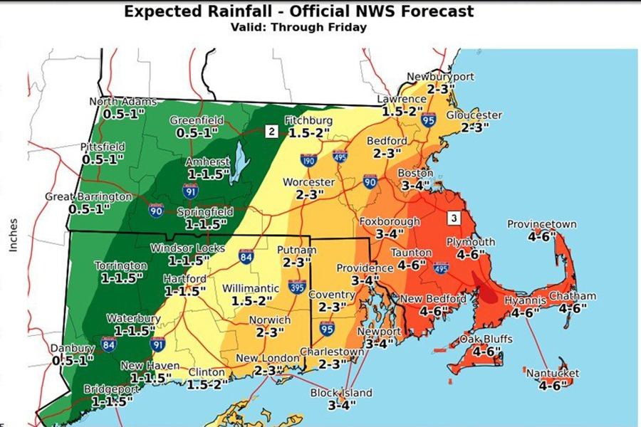 A Three Day Coastal Storm Is Coming to Boston
