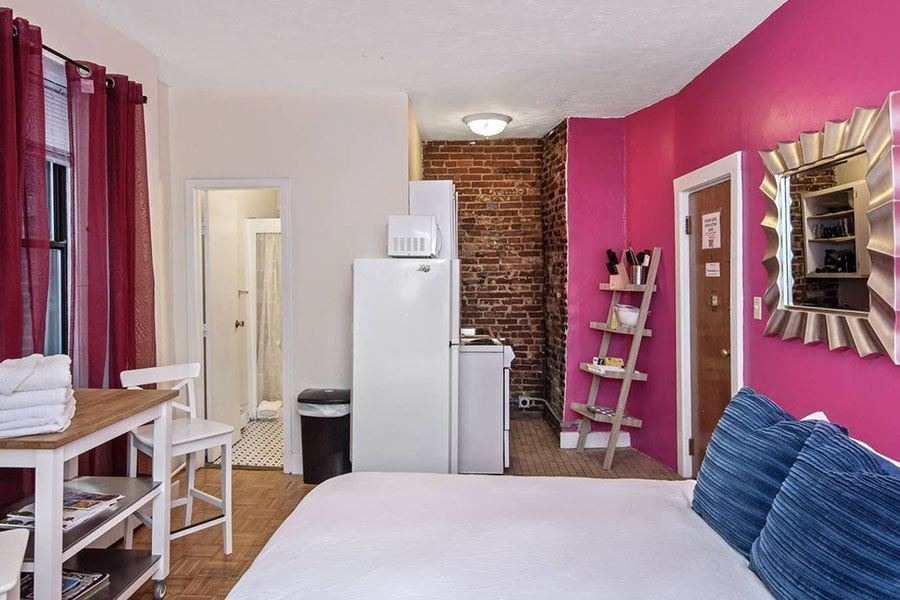 Five Cute Studio Apartments for Rent in Beacon Hill