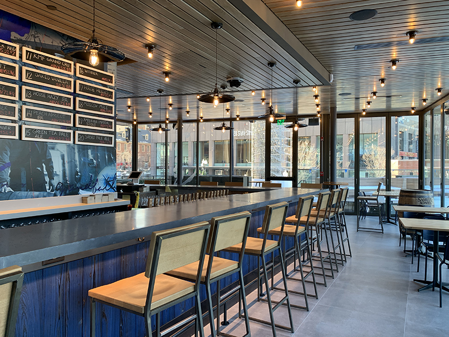 Five Things to Know about the New Sam Adams Brewery at Faneuil Hall