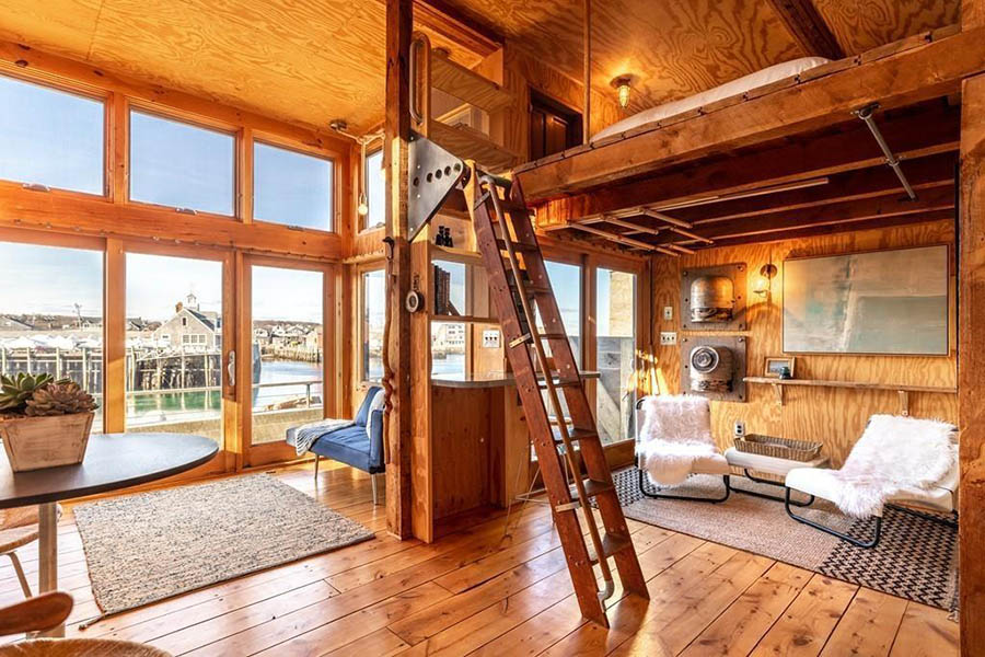 On The Market A Picturesque Tiny Home On Rockport S Storied Harbor