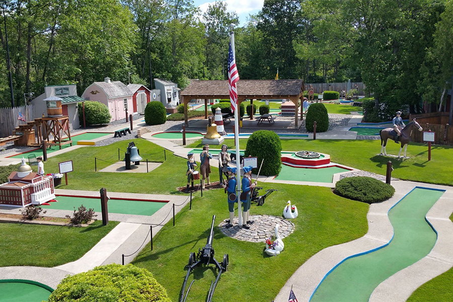 The Best Places To Play Mini Golf Near Boston